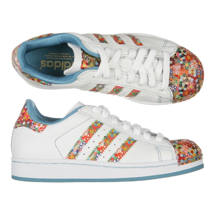 super popular 885c3 ea698 Mode Adidas Superstar Femme Fleur Grossiste Tea387