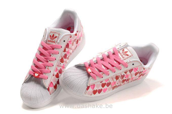new arrival c52ab 44948 Mode Adidas Superstar Femme Fleur Grossiste Tea397