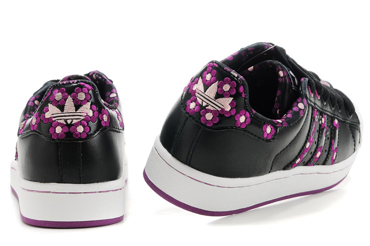 pretty nice 82b62 90b1f Mode Adidas Superstar Femme Fleur Grossiste Tea399