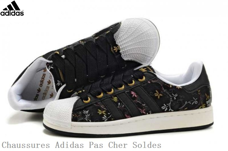 finest selection ab8bf 01860 Mode Adidas Superstar Femme Fleur Grossiste Tea406