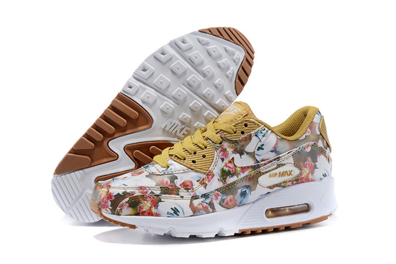 premium selection 186e2 32de3 Chaussures Nike Air Max 90 Femme Fleur Prix Usine Tea827