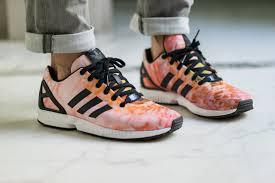 finest selection 129bf d35ad Chaussures Adidas Zx Flux Femme Fleur En Ligne Tang304