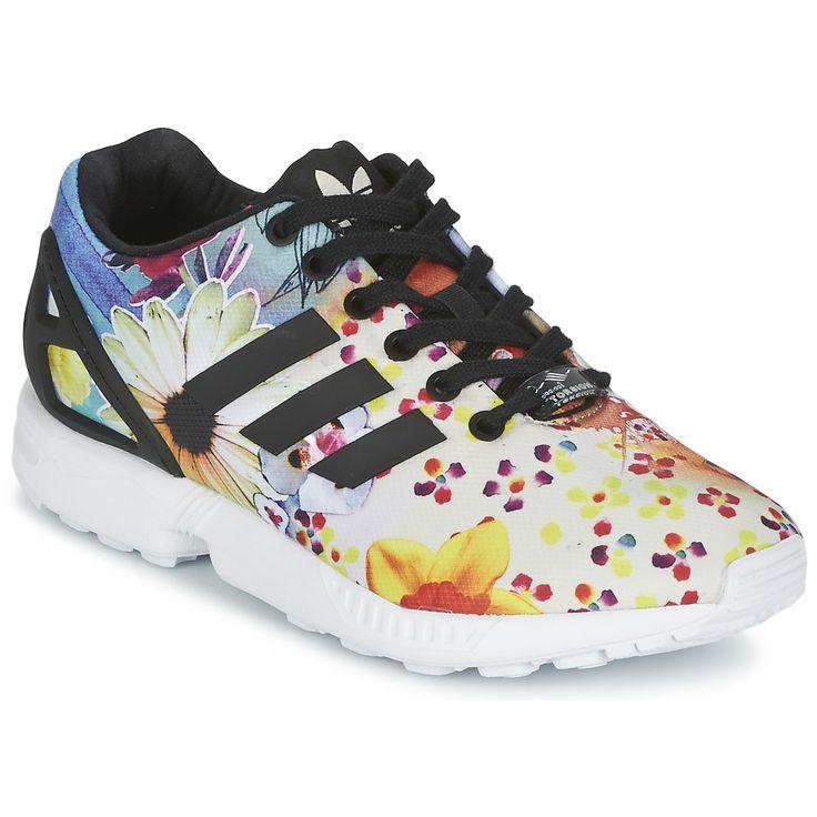 timeless design be2d3 b1b1f Chaussures Adidas Zx Flux Femme Fleur Grossiste Tang331