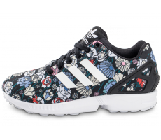 reputable site b8eab 928c0 Chaussures Adidas Zx Flux Femme Fleur Grossiste Tang337