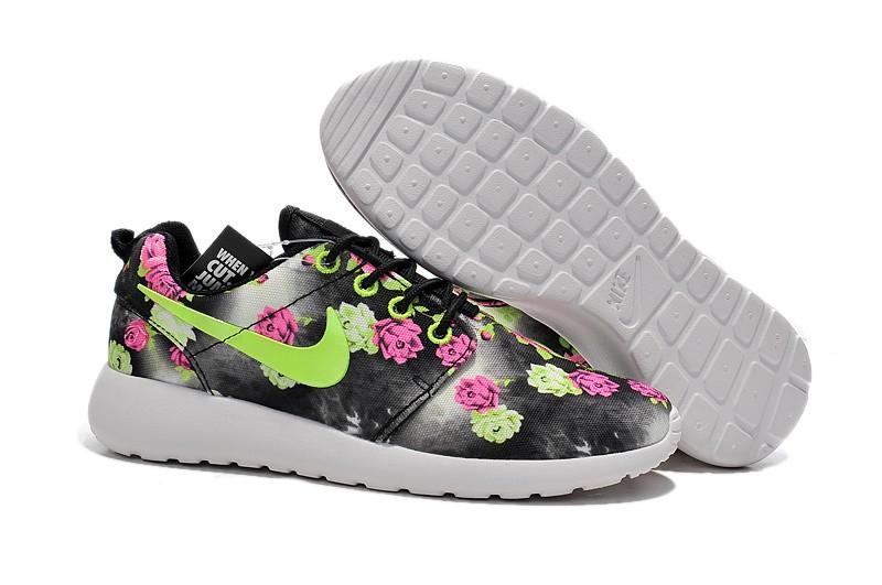 reputable site a90be 1465d Vente Chaude Nike Roshe Run Femme Fleur Prix Usine Jing439