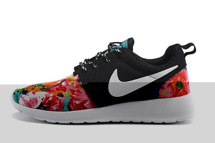 new product 0ee30 033fa Vente Chaude Nike Roshe Run Femme Fleur Prix Usine Jing442