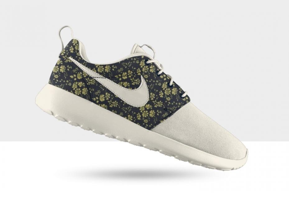 online store 1c8dd 6434b Vente Chaude Nike Roshe Run Femme Fleur Prix Usine Jing461