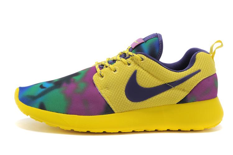 finest selection 74680 d8372 Vente Chaude Nike Roshe Run Femme Fleur En Ligne Jing476